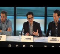 Star Trek Into Darkness Press Conference Part 1 - Chris Pine, Benedict Cumberbatch, Zachary Quinto