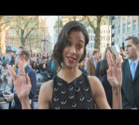 Star Trek into Darkness: Zoe Saldana talks about Benedict Cumberbatch, Chris Pine and space travel