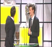 Steven Moffat BAFTA Special Award - presented by Benedict Cumberbatch and Matt Smith