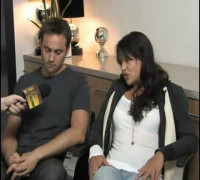 Stuart Townsend and Michelle Rodriguez Talks BATTLE IN SEATTLE