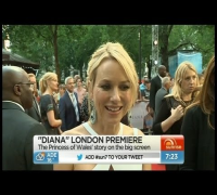 Sunrise - Naomi Watts at premiere of 'Diana'