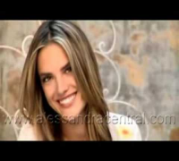 "Supermodel Alessandra Ambrosio in ""Love You Mom"" promotion"