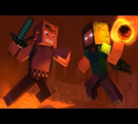 """Take Back the Night"" - A Minecraft Original Music Video"