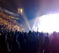 """Takin Back My Love"" clip in Manchester"