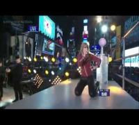 Taylor Swift I Knew You Were Trouble,We Are Never Ever Getting Back Together Dick Clark's New Year's