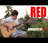 Taylor Swift - Red (fingerstyle guitar cover by GP) [TABS INCLUDED]