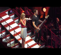Taylor Swift - Stay Stay Stay/Ho Hey (Lumineers Cover) * The Red Concert Tour 2013 * Orlando 4/11/13