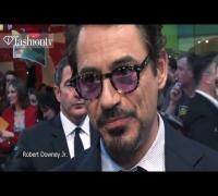 The Avengers ft Robert Downey Jr, Scarlett Johansson, Mark Ruffalo: London Premiere 2012 | FashionTV