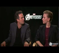 The Avengers' Mark Ruffalo And Scarlett Johansson Talk Playing Hulk And Black Widow