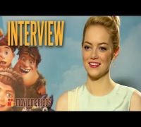 The Croods | Emma Stone Exclusive Interview (2013)