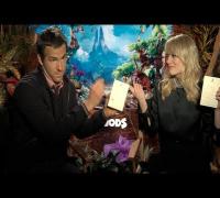 THE CROODS Interviews: Nicolas Cage, Emma Stone and Ryan Reynolds