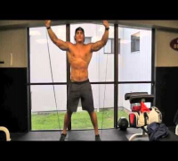 The Dark Knight Christian Bale Muscle Building Cardio Workout