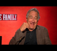THE FAMILY Interviews: Robert De Niro, Michelle Pfeiffer, Dianna Agron, John D'Leo