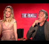 The Family - Robert De Niro & Michelle Pfeiffer Interview (HD) JoBlo.com