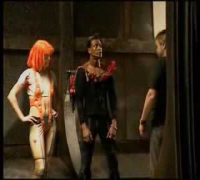 The Fifth Element Milla Jovovich Behind The Scenes Clip