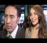The Frozen Ground Premiere interviews Nicolas Cage, Vanessa Hudgens, Katie Wallack, Robert Forgit