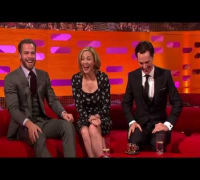 The Graham Norton Show S13x05 2/3 Chris Pine, Benedict Cumberbatch, Kim Cattrall