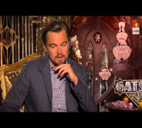 The Great Gatsby | Leonardo DiCaprio Interview (2013)