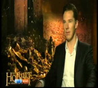 The Hobbit DOS: LA Pre Premier Interview Benedict Cumberbatch (Smaug)