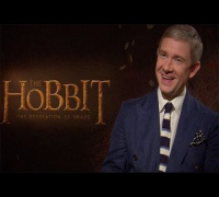 The Hobbit interviews: Martin Freeman, Evangeline Lilly & Benedict Cumberbatch