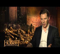 "The Hobbit: The Desolation of Smaug: Benedict Cumberbatch ""Smaug"" Official Interview"