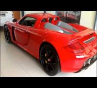 the PORSCHE CARRERA GT of Paul Walker before the accident
