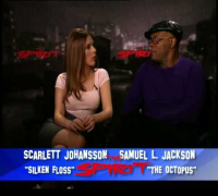 The Spirit Samuel L. Jackson Scarlett Johansson interview