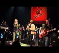 THE VOICE - USHER, BLAKE SHELTON, SHAKIRA, ADAM LEVINE - COME TOGETHER (LIVE @ HOLLYWOOD 5-9-2013)
