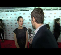 TIFF: Marion Cotillard chats about being directed by her partner Guillaume
