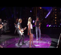 Tim McGraw, Taylor Swift and Keith Urban  CMA Music Festival