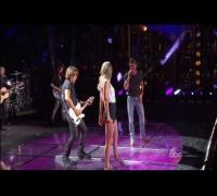 Tim McGraw, Taylor Swift and Keith Urban  CMA Music Festival