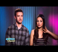 Timberlake & Mila Kunis Talk 'Friends With Benefits'