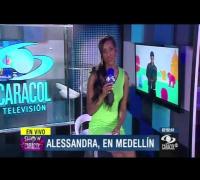Todo lo que veo acá me impresiona, dice Alessandra Ambrosio en Medellín