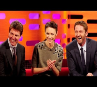 TOM CRUISE & GERARD BUTLER: Wacky Wire Competition - The Graham Norton Show NEW Apr 11 BBC AMERICA