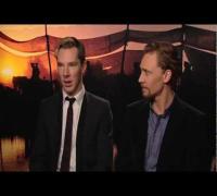 Tom Hiddleston And Benedict Cumberbatch Interview -- War Horse