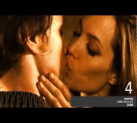 TOP 5 - Angelina Jolie Kisses in the movies (HD)
