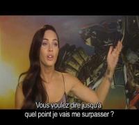 Transformers 2 : Face à face en vidéo avec Megan Fox