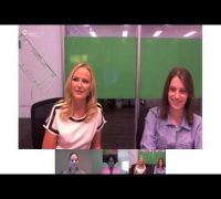 Trophy Wife's Malin Akerman Hangout On Air with Entertainment Weekly