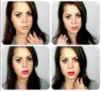 Trucco alla Megan Fox con gli Elegantissimi (4 labbra)