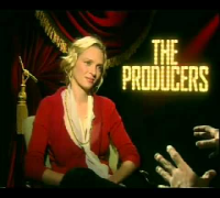 Uma Thurman interview for The Producers movie