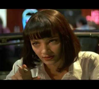 Uma Thurman (Mia Wallace) - Girl You be a Woman