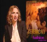 Uma Thurman Michael Angarano Max Winkler CEREMONY interviews