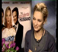 Uma Thurman on Wedding TV
