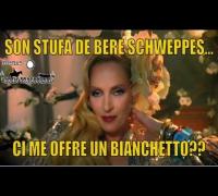 Un bianchetto per Uma spot schweppes uma thurman dialetto veneto)