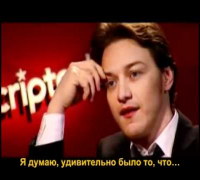 Unscripted with Keira Knightley James McAvoy (Part 1)