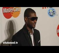 Usher Raymond at Clive Davis 2010 Pre Grammy Gala