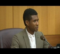 Usher Raymond in court keeps custody of kids after son's near drowning