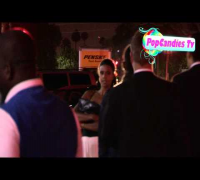 Usher Raymond & Lady Friend depart Milk Studios in Hollywood