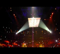 "Usher Raymond OMG Tour performs the song ""Burn"" at the O2 Arena in London 18th february"