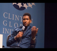Usher Sings at the Opening Plenary: CGI U 2012